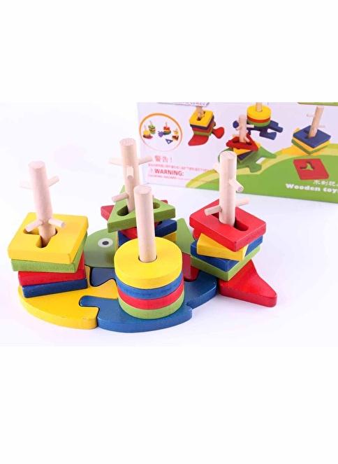 Hobby&Toys Ahşap Oyuncakları Renkli
